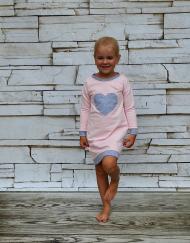 tunika dla dziewczynki rozowa