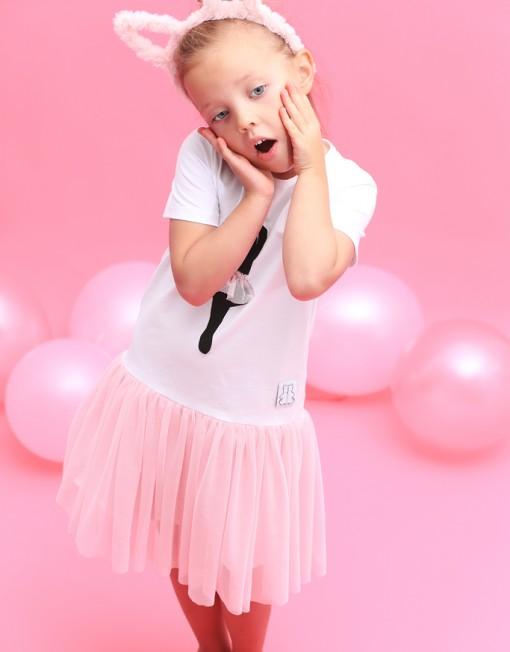 baletnica-sukienka-dladziewczynki-tiulowa-tiul-rózówa