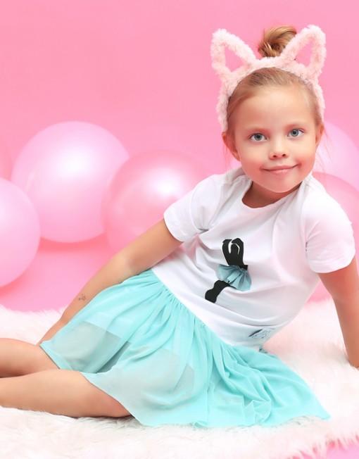 baletnica-sukienka-mięowa-tiul-tiulowa