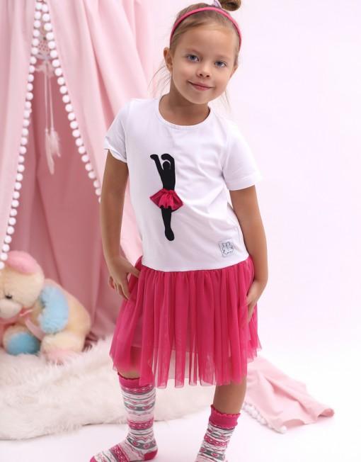 balerina-baletnica-sukiena-biała-amarant-ciemnyróż-róż-rózówa
