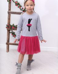 sukienka z tiulem dla dziewczynki