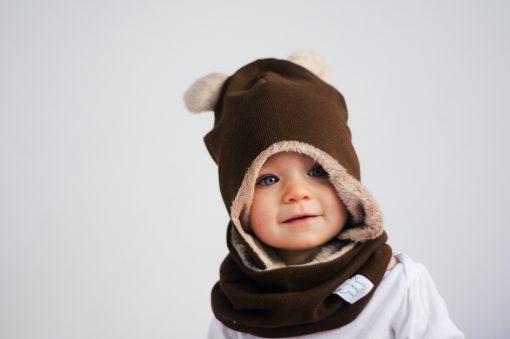 czapeczka zimowa dziecięca