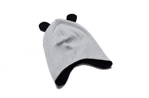 czapka zimowa niemowlęca uszy