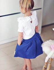 Spódnica dziewczęca bluzka