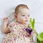 sukienka letnia niemowlęca