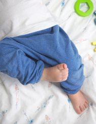 spodnie baggy niemowlęce