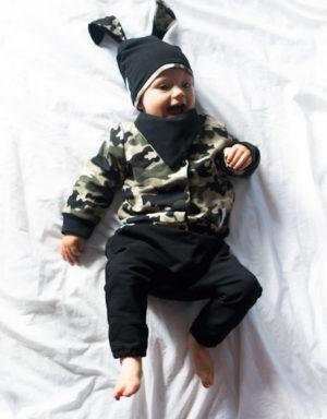 spodnie niemowlece baggy ubranka