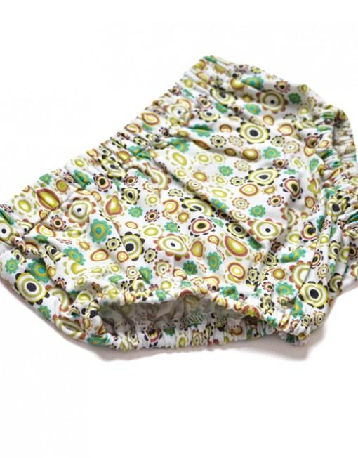 bloomersy-niemowlęce-zielone-kółka