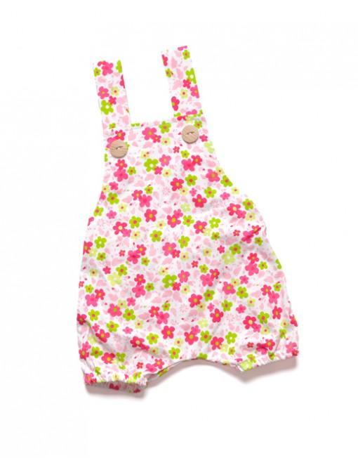 ogrodniczki-rampers-lato-kwiatki-dla-niemowlaka