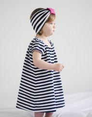 sukienka niemowlęca paski