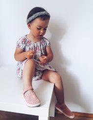sukienka bawełniana dla niemowlaka