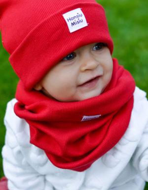 Czapka niemowlęca zimowa