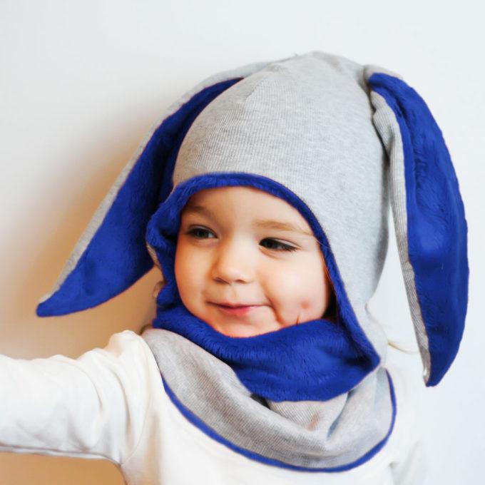 czapka zimowa dla niemowlaka dziwczynki