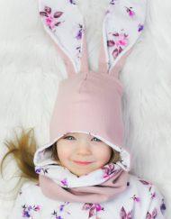czapki i kominy dla dzieci handmade