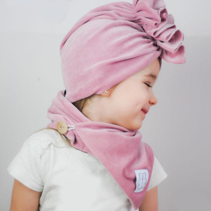 opaska dla dziewczynki turban