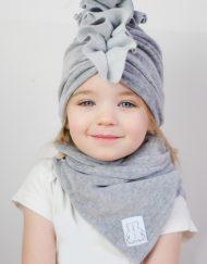 czapka turban dla dziewczynki
