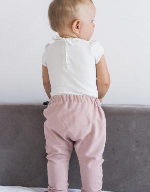 spodnie niemowlece