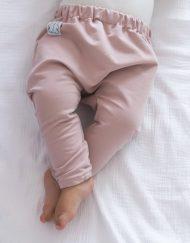 baggy niemowlece różowe