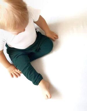 baggy dla chłopca zielone