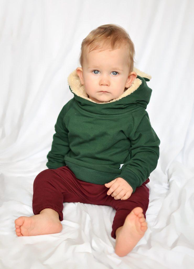 bluza z uszami dla dziecka