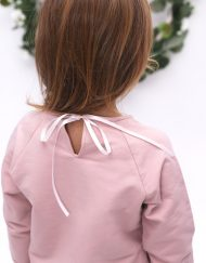 bluza z falbanką dla dziewczynki