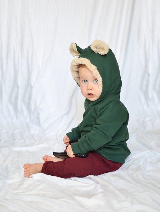 blza uszy niemowlęca
