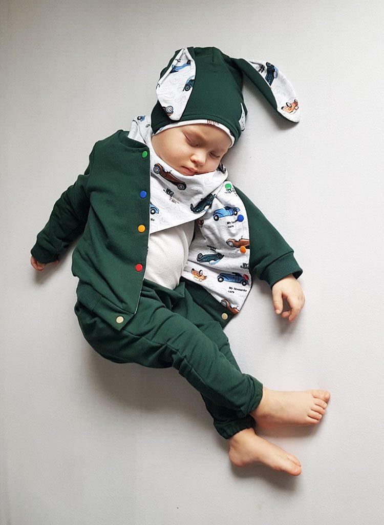 ubranka dla chłopca autka