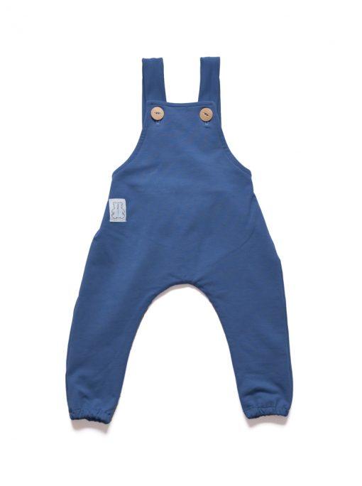 ogrodniczki niemowlęce niebieskie