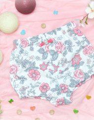 szorty spodnie dla dziewczynki kwiaty