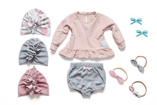 bluza niemowlęca różowa
