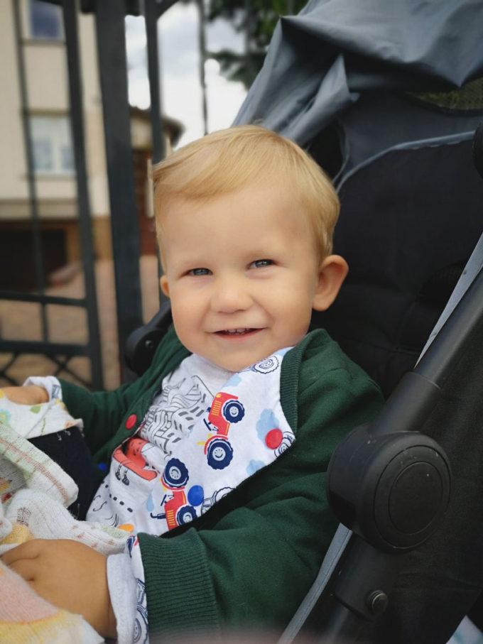 dwustronna bluza dziecko