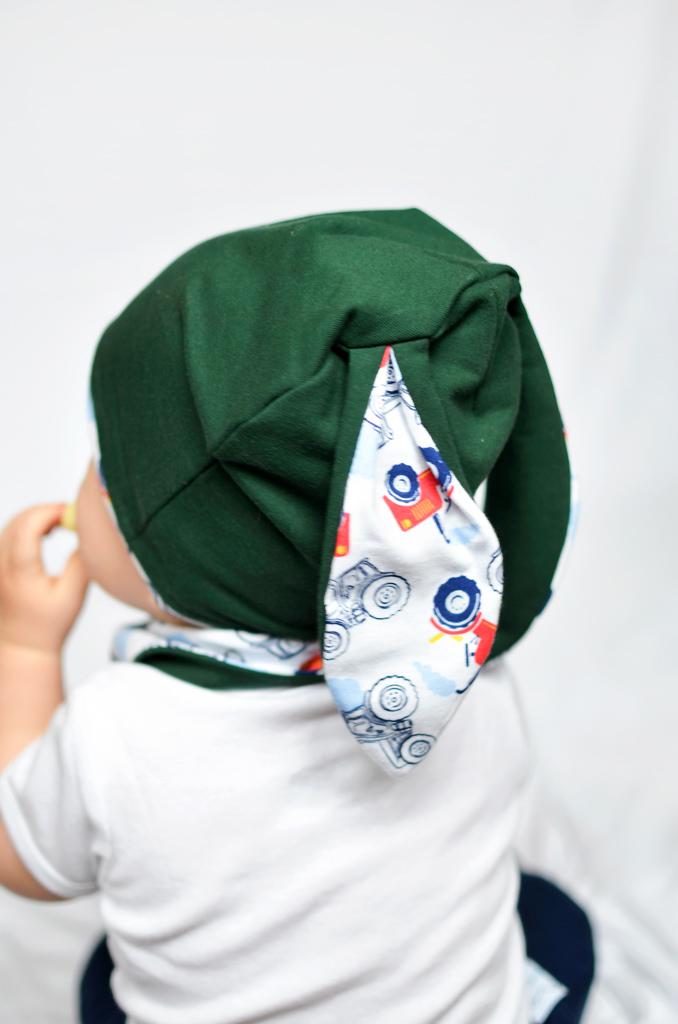 czapka uszy dla chłopca