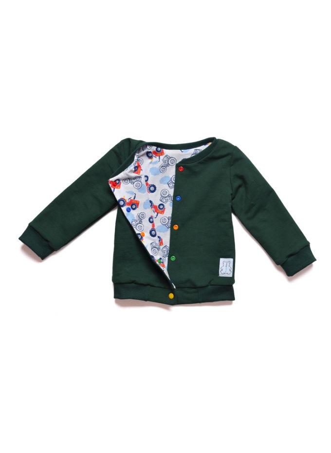 dwustronna kurtka bluza dla chłopca