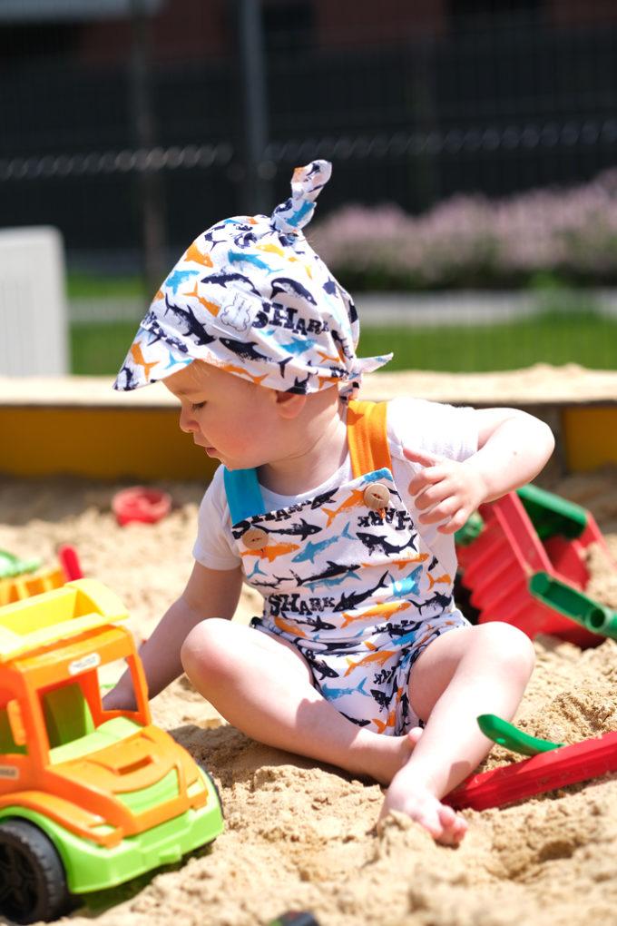 ubranka na lato dla chłopca