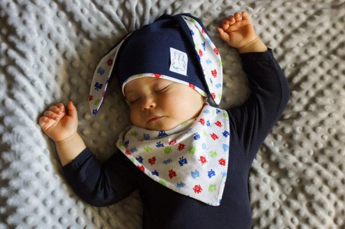 apaszka dla niemowlaka