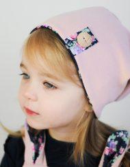 czapka beanie dla dziewczynki