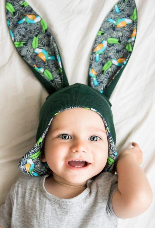 czaeczka niemowlęca uszy