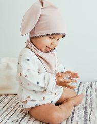 czapka dziecięca uszy
