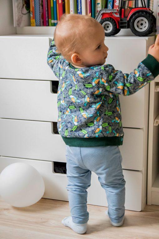 dwustronna bluza dziecięca
