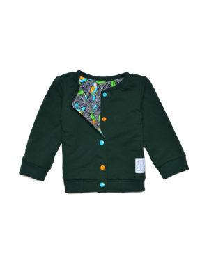 bluza dwustonna dla chłopca