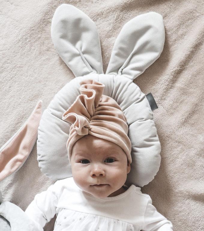 turban czapka dla niemowlaka