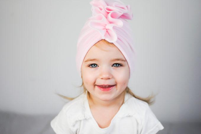 czapka turban dla dzieci