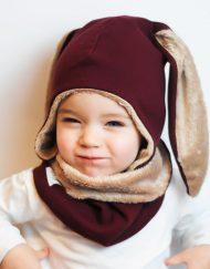 czapka zimowa dziewczęca