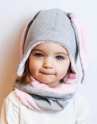 czapka zimowa dla noworodka