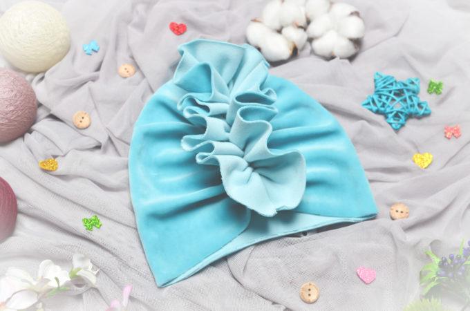 turban dla noworodka
