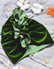 czapka turban dla niemowlaka