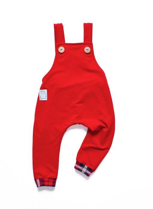 spodnie na święta dla niemowlaka