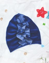 turban welurowy