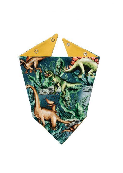 chustka pod szyję dinozaury