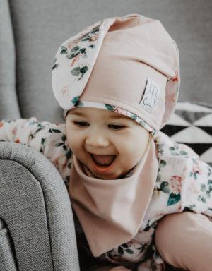 chustka pod szyję niemowlęcą